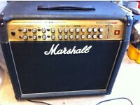Marshall avt150 with removable head, pedal, booklet