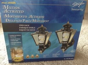 Motion Activated Outdoor Light Fixture
