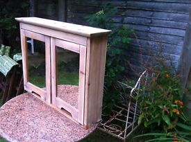 Lovely solid pine bathroom cabinet