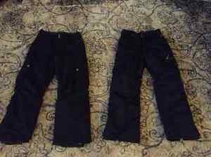 2 x pairs of Firefly youth ski pants