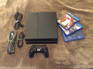 PlayStation 4 mint condition $240.00
