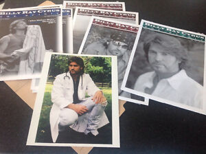 BILLY RAY CYRUS COLLECTION DVDs 8X10 DOC COUNTRY