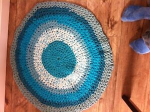 Hand made up cycled rugs
