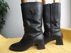 Bottes de qualité cuir véritable/Genuine leather quality boots