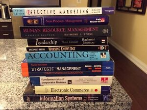 8 x MBA Textbooks Project Management, Strategy, Accounting