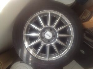 Rims & 2 Tiers (came off of Infiniti G35)