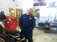 2nd Year MOTORCYCLE MECHANIC GRAD OF HARLEY PROGRAM NEEDS WORK