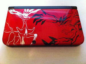 ****POKEMON X AND Y RED NINTENDO 3DS XL EDITION IN THE BOX*****