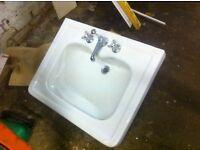 Large porcelain Washhand basin