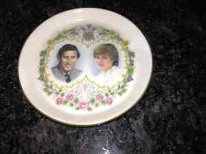 Vintage Charles and Diana plate for sale