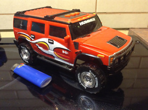Toy State Road Rippers Orange 2003 Hummer H2 Truck