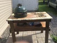 BIG GREEN EGG (small) mint condition