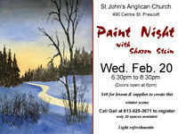 Paint Night with Sharon Stein