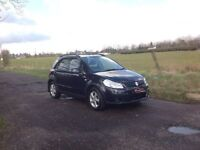 24/7 Trade sales NI Trade prices for the public 2008 Suzuki SX4 1.6 GL Black motd February 19