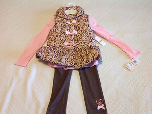 Brand new with tag 3 piece girl clothing size 6x Edmonton Edmonton Area image 1