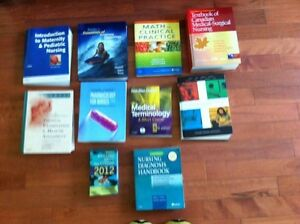 REDUCED: St. Clair RPN Textbooks (1st & 2nd Year)