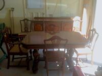 Antique Dining Room Set and Kitchen Set