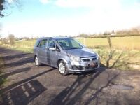 24/7 Trade sales NI Trade Prices for the public 2008 Vauxhall Zafira 1.6 7 Seater motd January 19