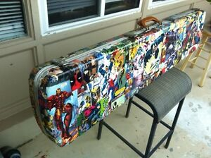 Comic covered 52 inch case