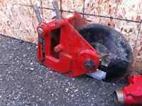 General 190 CUT-R-TACH.   Backhoe asphalt cutter.