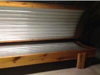 Sun bed wooden frame 18 Ruva tubes
