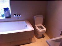 Plumber heating engineer bathroom refurbishment tiling