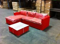 Outdoor Sectional Sofa/Divan! Orange