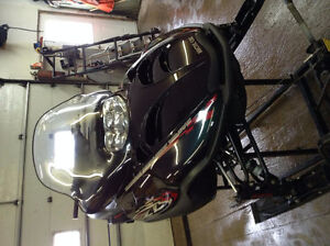 DSR JUNKING 2001 ARCTIC CAT ZL800 COLOR CHANGE CAB NICE SHAPE