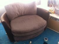Big cuddle chair great condition