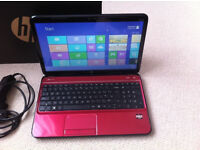 Hewlett Packard Pavilion G6 Red Core i5 3210M with 4GB Ram and Windows 10 Pro and Office 2013 Pro