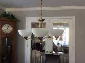 Brass Ceiling light