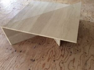 Travertine Marble Modular Coffee Table From the Art Shoppe in TO