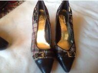 Graceland ladies heels shoes size: 3/36 used £2