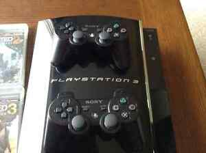 PS3 80 GB backwards compatible console Kitchener / Waterloo Kitchener Area image 4