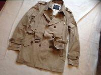 Fair whale men's coat used size S/M £5