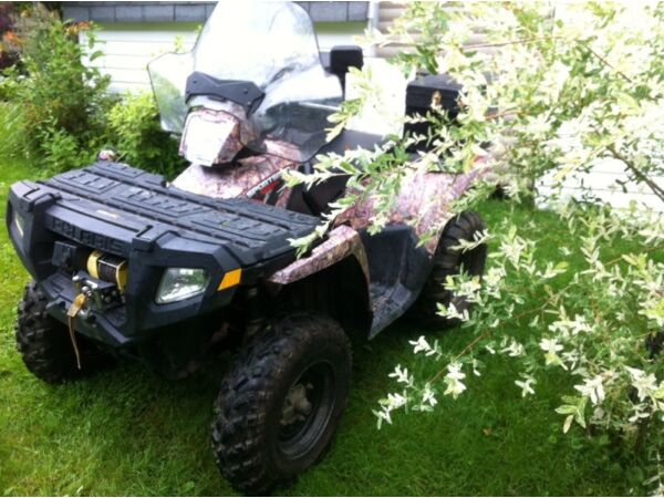 Used 2010 Polaris sportsman 500 HO