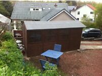 Wooden shed 12 'X 7'