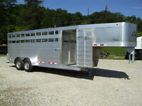 NEW CHEROKEE 7X20 ALL ALUMINUM TRAILER