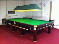 FULL SIZE RILEY SNOOKER TABLE IN GREAT CONDITION