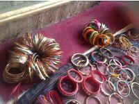 Indian pakestain joblot bangles mixed £10