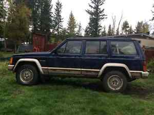1993 Jeep Cherokee Country SUV, Crossover
