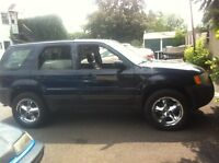 Ford escape bas millage