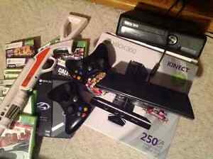 Xbox 360 Kinect with all games included