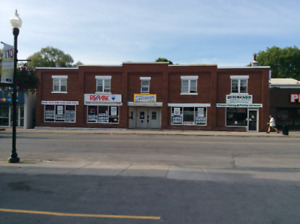 Commercial Storefront Lease in Hanover Ontario