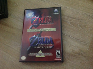 Zelda Master Quest Gamecube Full Like New