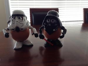 Star Wars Mr Potato Head Storm Trooper & Darth Vader