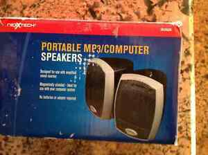 Portable computer speakers