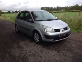 24/7 Trade sales NI Trade Prices for the public 2006 Renault scenic 1.6 vvt oasis silver
