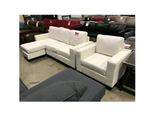 Brand New Corner Sofa and Chair