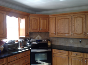 Kitchen for sale with granite tops
